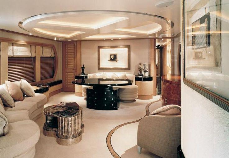 Luxury mega yacht interior dream yachts