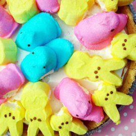 Peeps S'mores Ice Cream Pie | Easter | Pinterest
