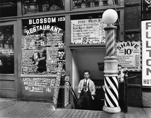 New York1910 Antique Barber Shop Photo Hair Cuts Hot Razor Shave Rest ...