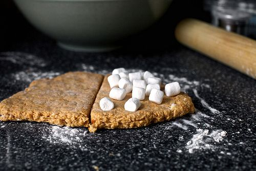 sweet potato and marshmallow biscuits | Cooking | Pinterest