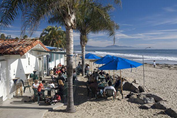 Shoreline Beach Cafe Santa Barbara Ca