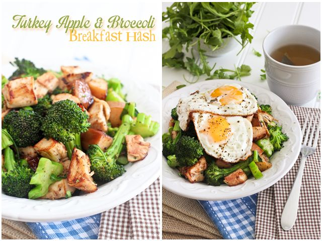 Paleo APPLE BROCCOLI BREAKFAST HASH | by Sonia! The Healthy Foodie ...