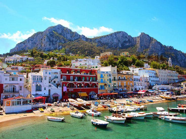 Isola di Capri, Campania