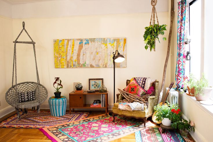 layer on the bright and eclectic pieces!
