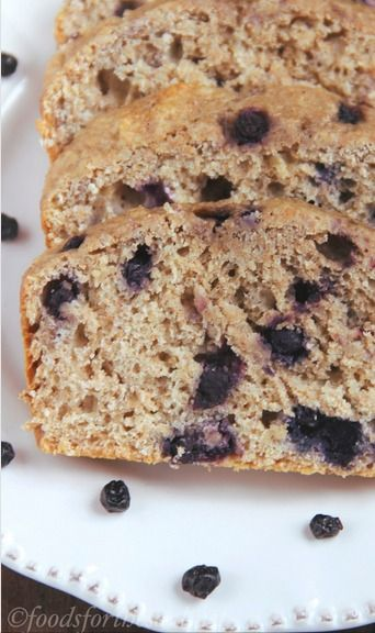 Whole Wheat Blueberry Banana Bread | Yummmie Must Tries | Pinterest