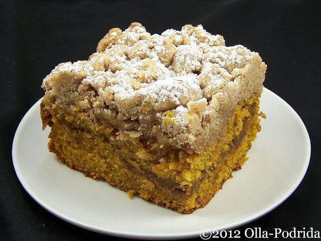 Pumpkin Streusel Coffee Cake Three Ways STREUSEL TOPPING/FILLING ¼ ...