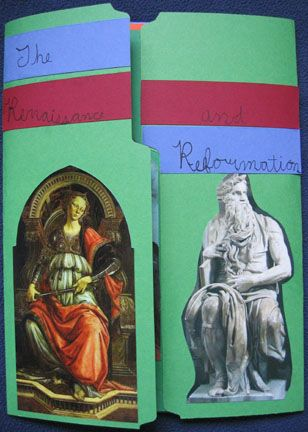 Renaissance and Reformation lapbook cover