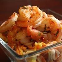 Spicy Garlic Rosemary Shrimp & Pasta   Food to make   Pinterest