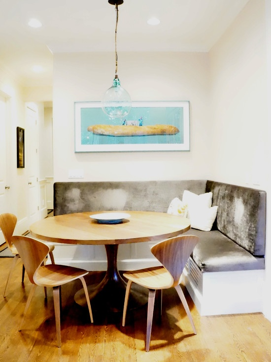Dining Room Banquette Design Small Space Big Ideas Pinterest