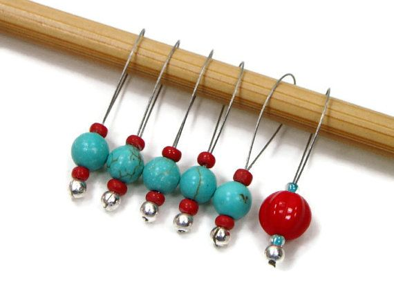 Knitting Stitch Markers, Snag Free, DIY Knitting, Gift for Knitter, R?