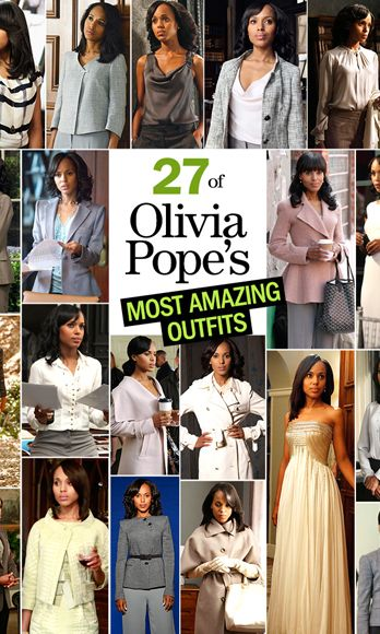 27 of Olivia Pope's Most Amazing 'Scandal' Outfits