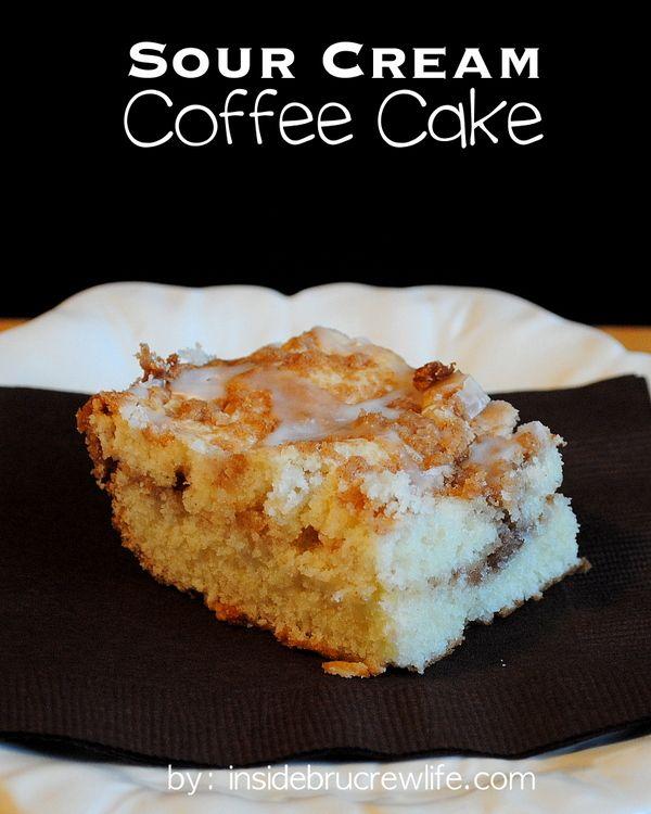 Sour Cream Coffee Cake | Recipe