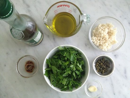 Classic Italian Salsa Verde | Main Entrees | Pinterest
