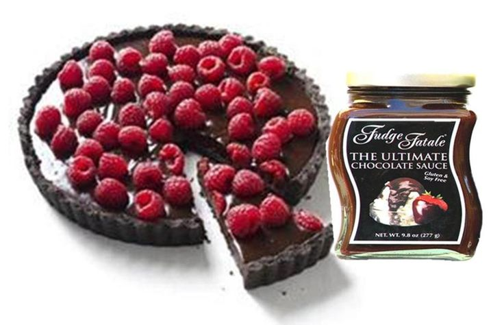 Chocolate raspberry or macadamia nut tartwith the ultimate gluten ...