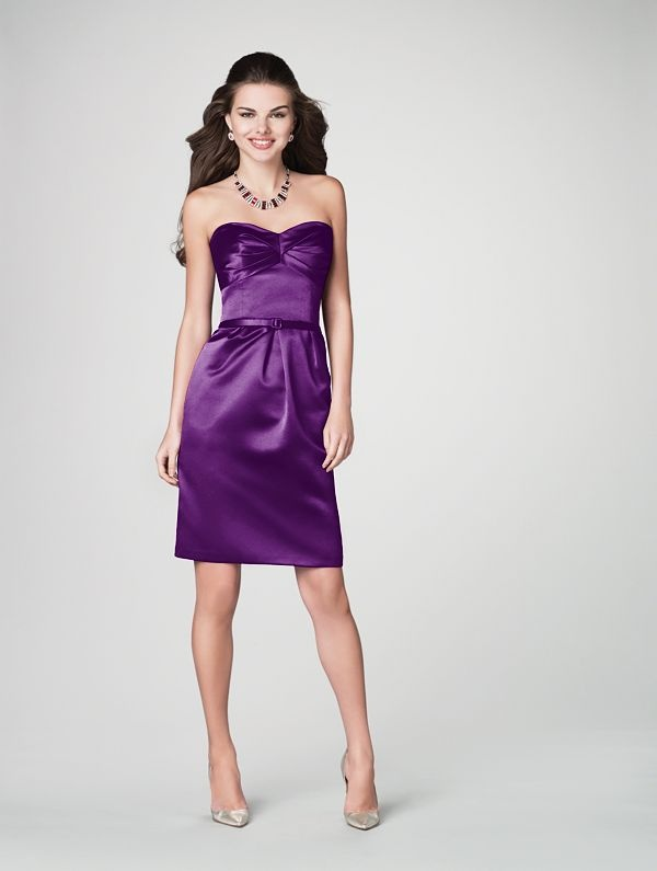 Grape colored bridesmaid dresses! | My fabulous wedding ...