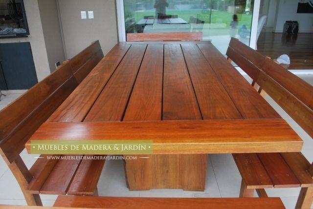 Mesas rusticas de madera mesas pinterest for Mesas rusticas