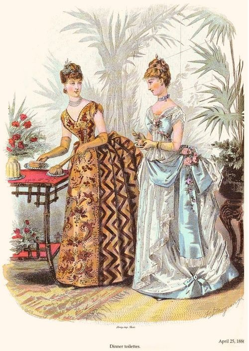 1886 La Mode Illustrée