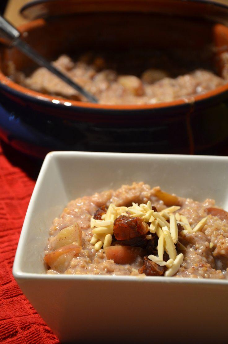 Baked Maple Coconut Steel Cut Oats | Healthy Breakfast | Pinterest