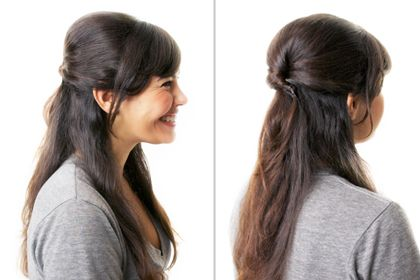 Hairstyle Routine : Hairstyles You Can Do in 10 Minutes Flat