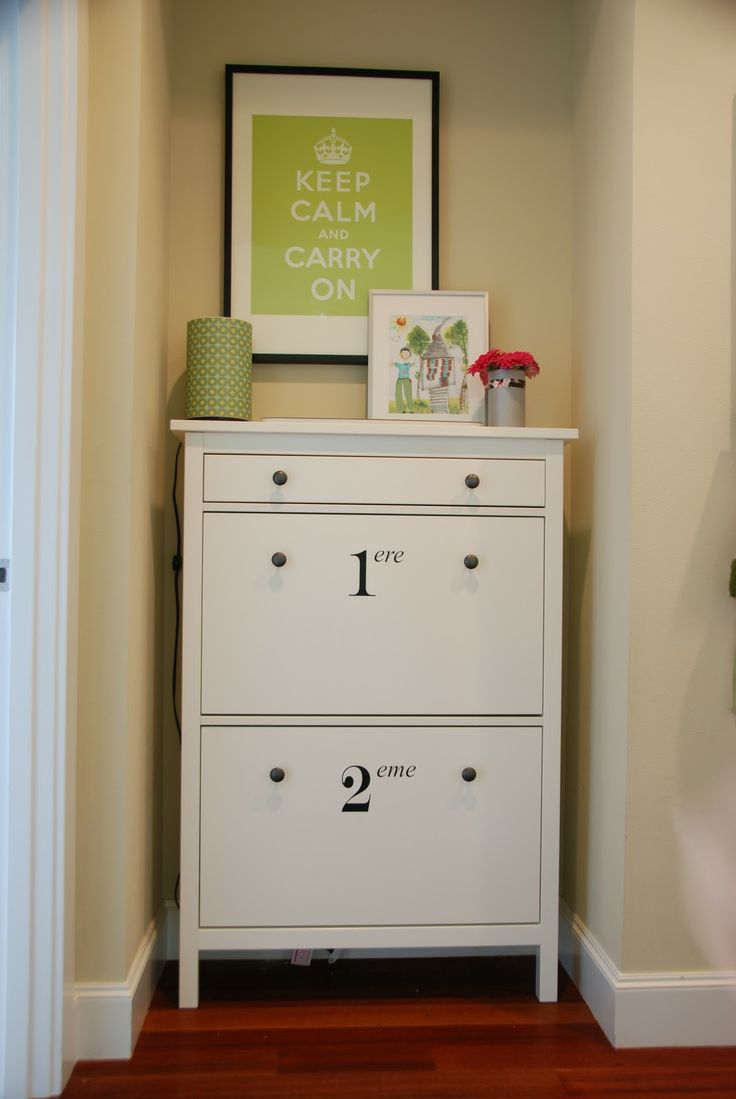 Storage Nook With Ikea Shoe Cabinet My Style Pinterest