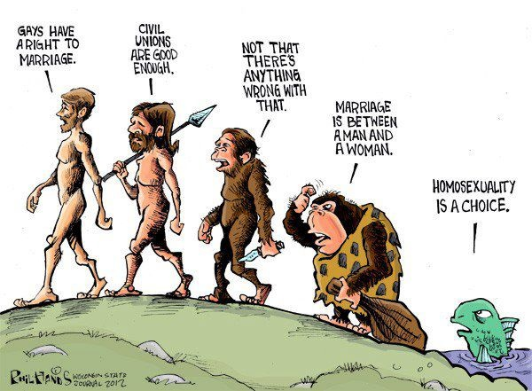 evolution political society