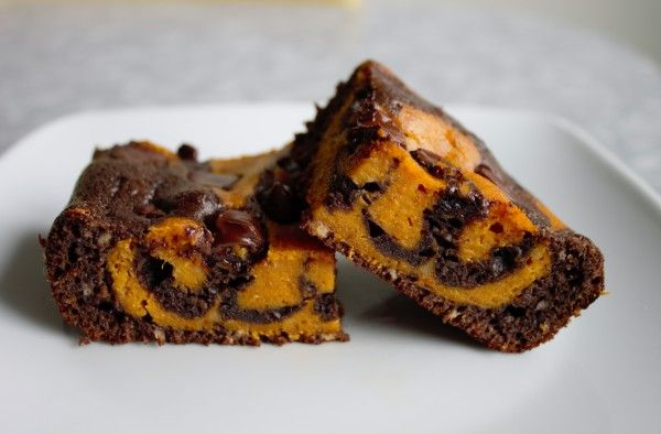 Pumpkin Swirl Brownies | Recipes-Sweet | Pinterest