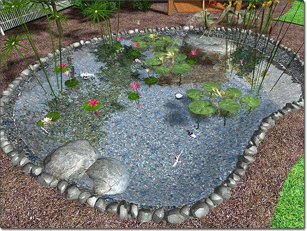 Backyard Landscaping With A Pond : Backyard pond garden ponds