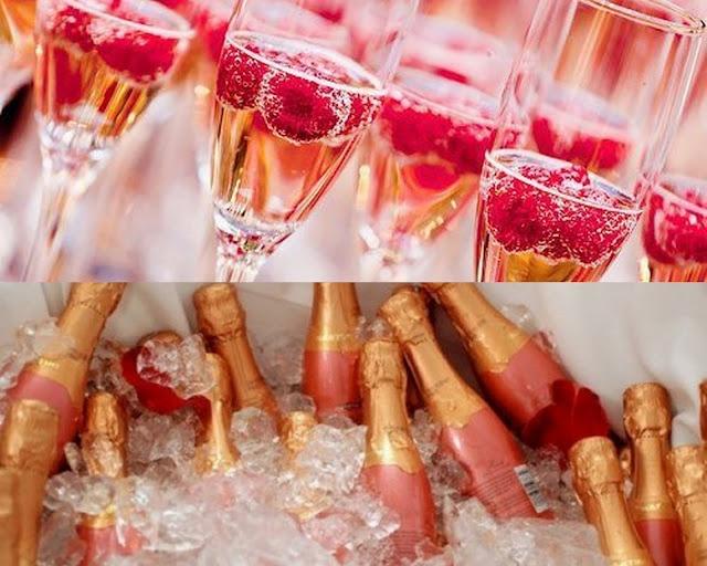 Raspberry fizz | Blush Pink & Gold Colour Board | Pinterest