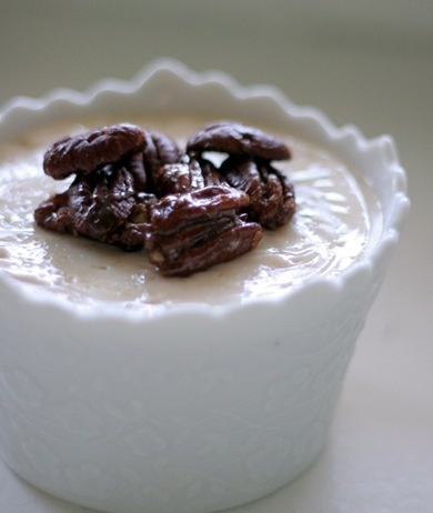 maple pudding with spiced pecans | Dessert yummy :) | Pinterest