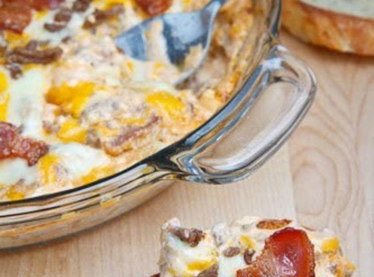 Bacon Double Cheese Burger Dip Recipes — Dishmaps