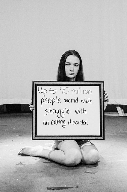 """Up to 70 million people world wide struggle with an eating disorder."""