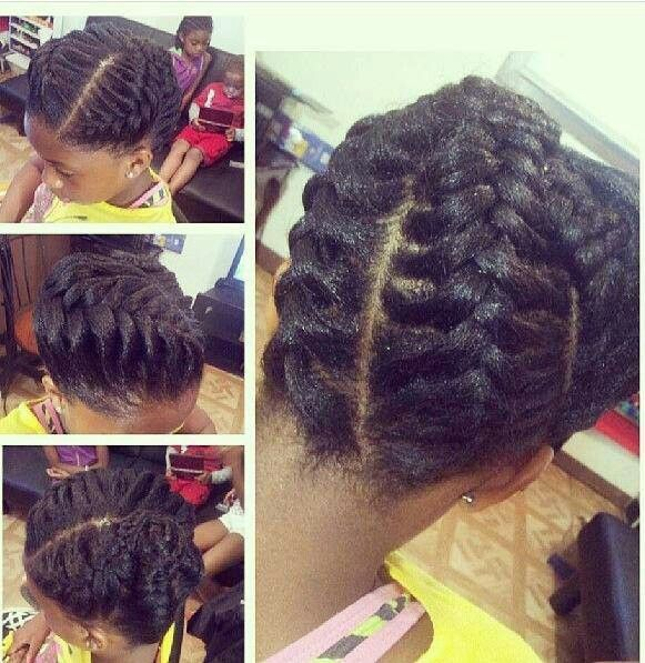 Protective Style for Natural hair. gonna have to try this Afro hair ...