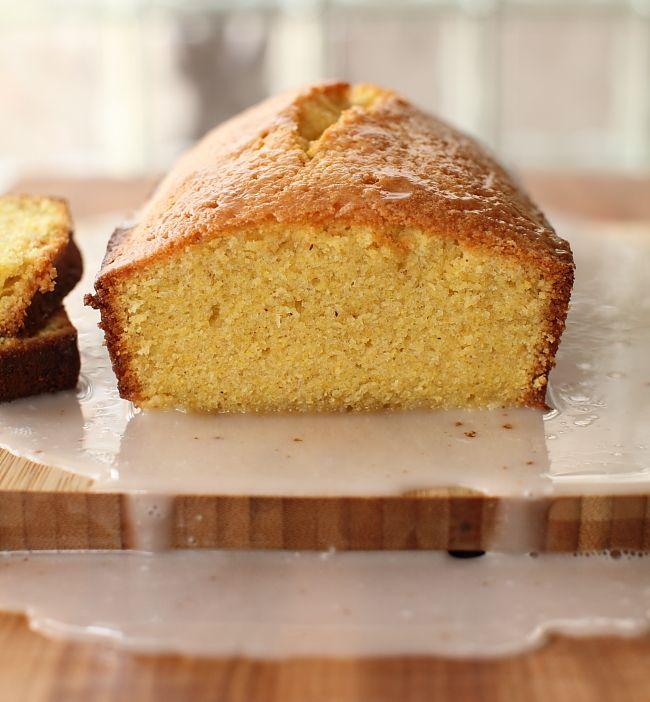 Texas Grapefruit & Toasted Cornmeal Pound Cake from Scarletta Bakes.