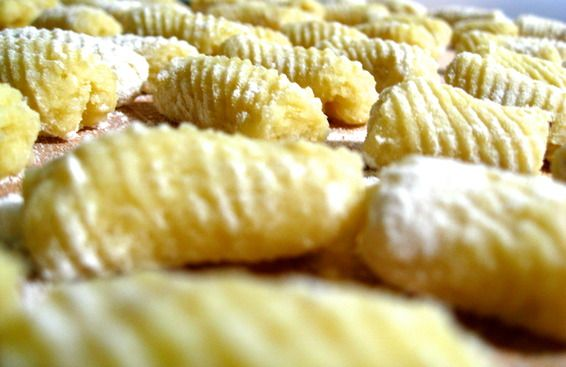 Gnocchi and Tiny Meatballs with Creamy Parsley Pesto | Recipe