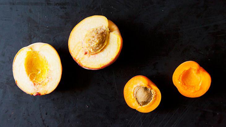 Peach Pie Ice Cream - Vegan/DairyFree | FOOD. | Pinterest