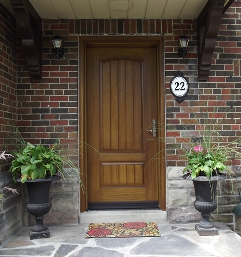 love this solid wood front door for the home pinterest