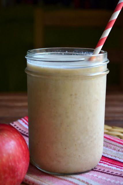 Apple Pie Protein Shake | Healthy is Happy | Pinterest