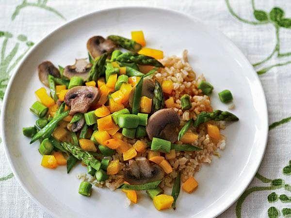 Asparagus Stir-Fry | recipes | Pinterest