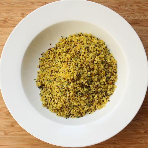 Lemon Quinoa | Linger over lunch | Pinterest