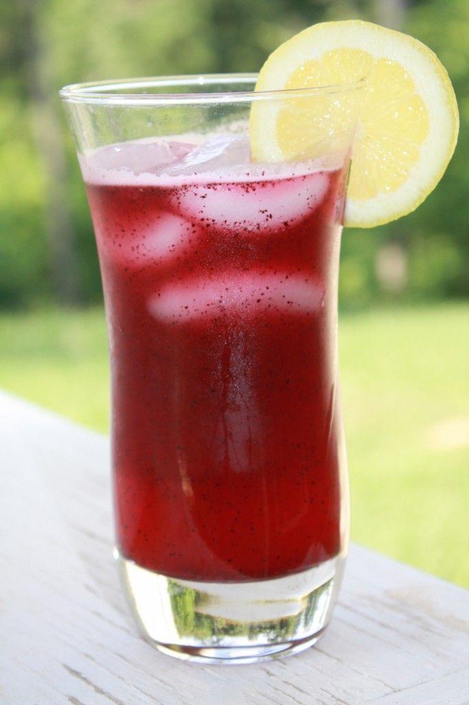 Blueberry Lemonade | Drinks | Pinterest