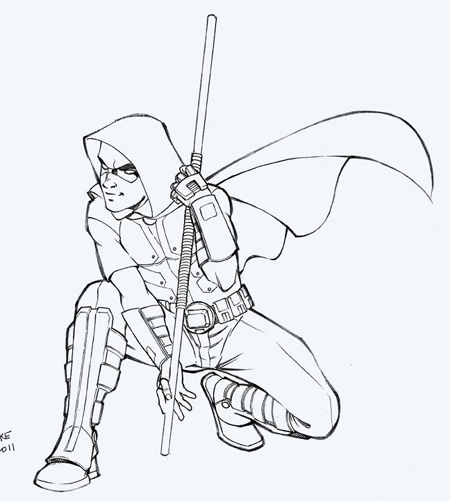 jason todd coloring pages - photo#14