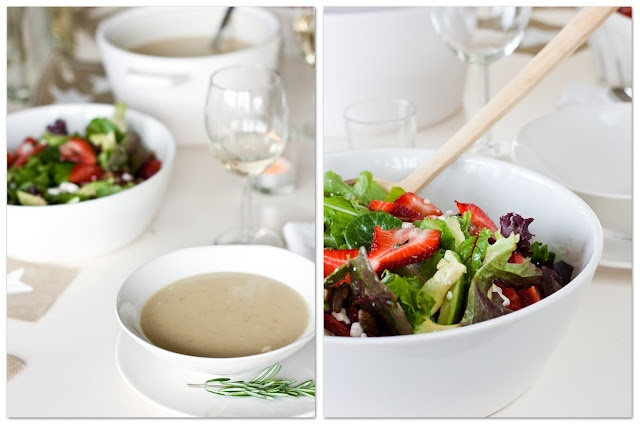 Sweet potato rosemary soup