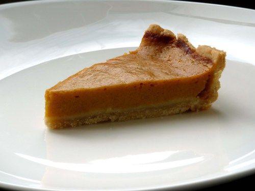 gluten free pumpkin pie slice | Om Nom | Pinterest