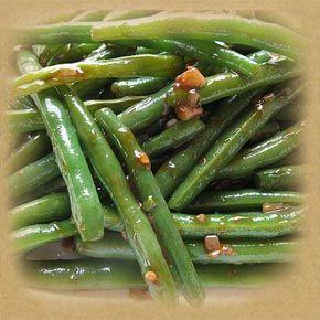 Green Beans w Herbs & Mushrooms 1 1/2 lbs green beans 4 oz. fresh ...