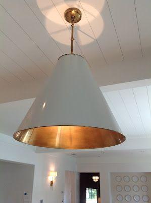 Circa lighting (Small Goodman Antique White/Brass) - Coastal Living Ultimate Beach house