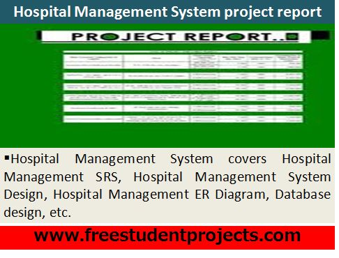 project report on hospital pdf