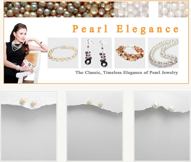 The Classic, Timeless Elegance of Pearl Jewelry - See & Shop at www.beadnic.com
