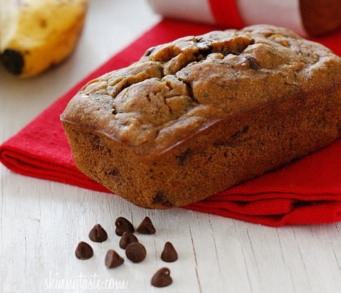 Petite Chocolate Chip Banana Bread Loaves Recipe — Dishmaps