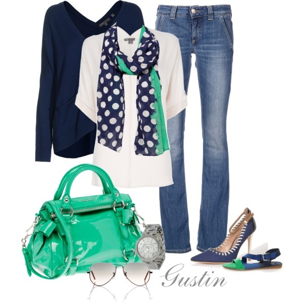 navy and teal, perfect :)