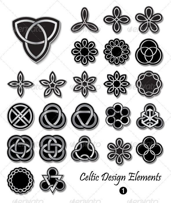 Celtic symbols and design elements scottish luckenbooth pinterest